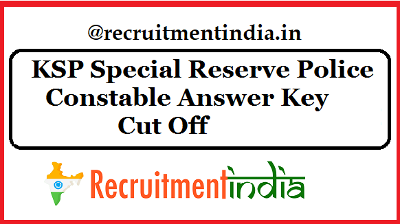 KSRP Answer Key