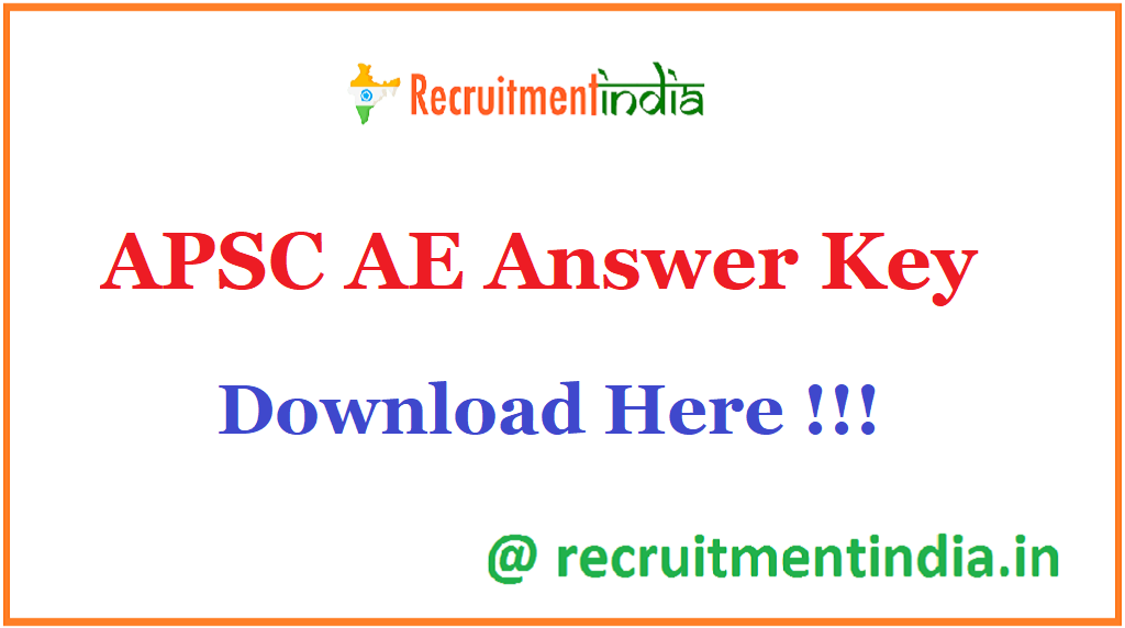APSC AE Answer Key