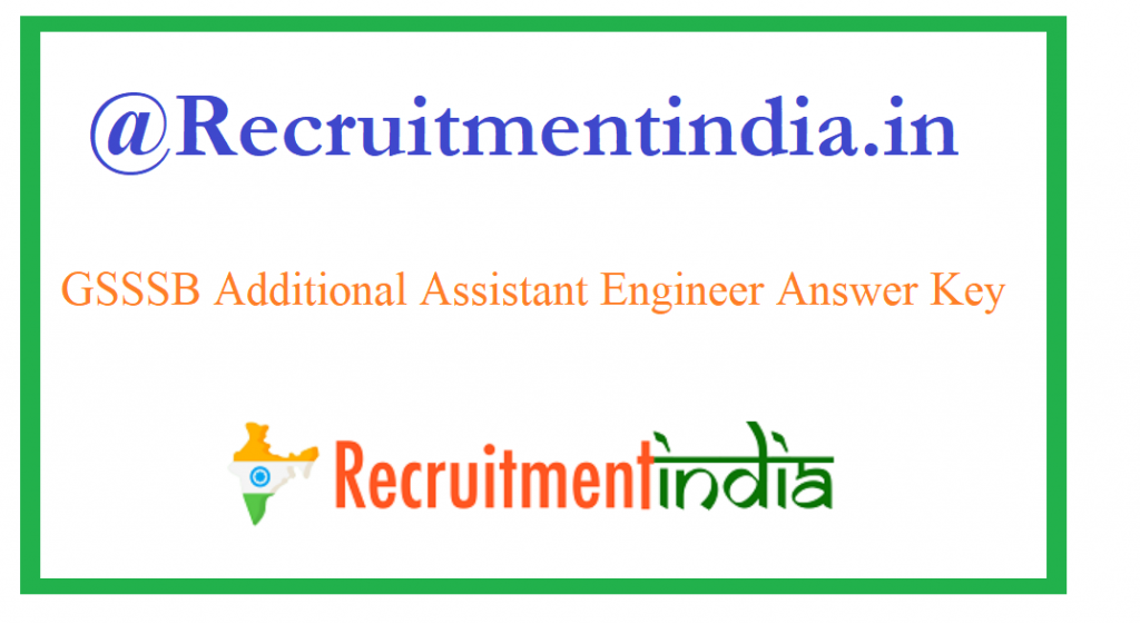 GSSSB Additional Assistant Engineer Answer Key
