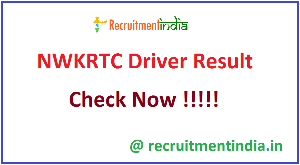NWKRTC Driver Result
