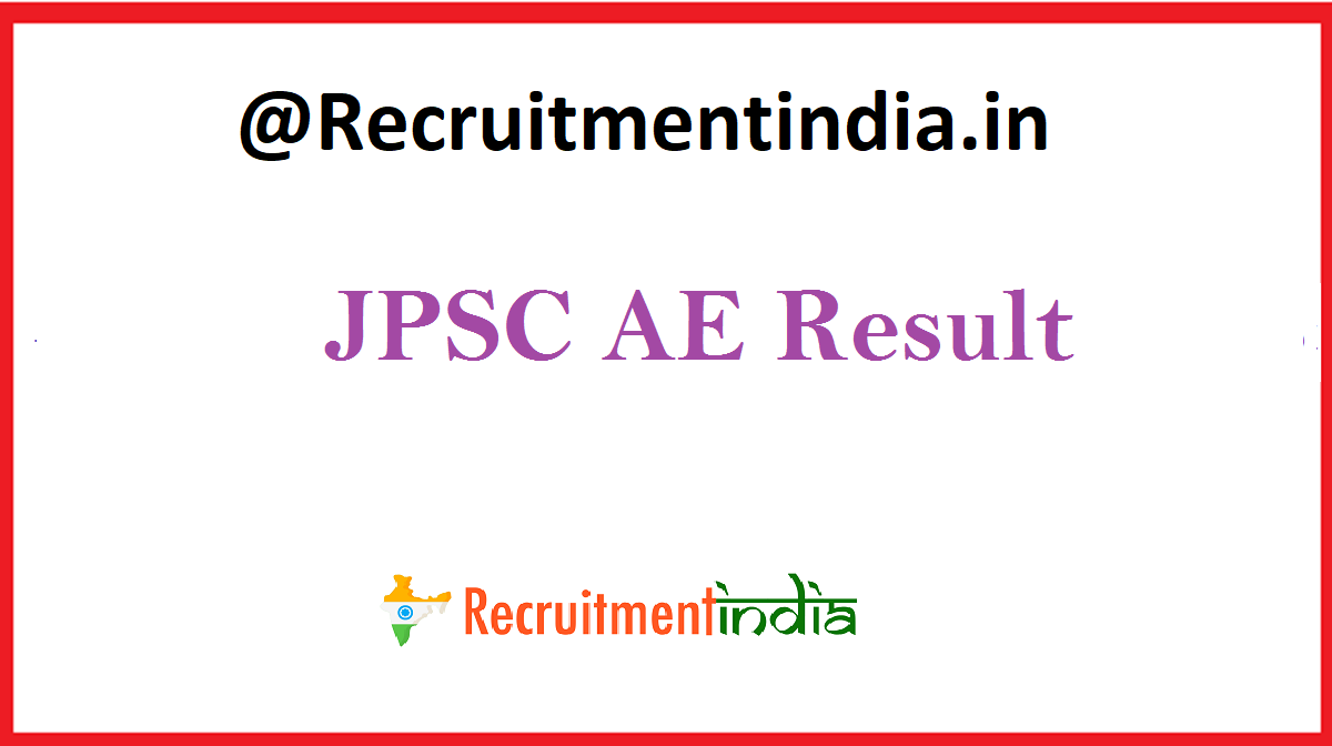 JPSC AE Result