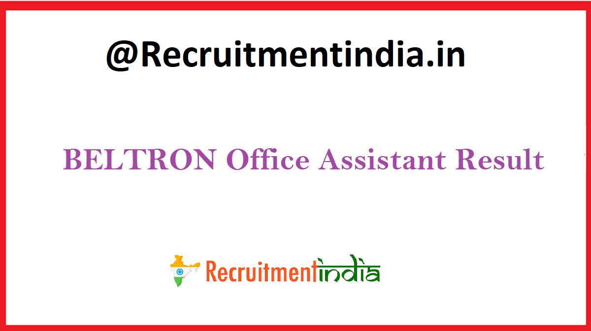 BELTRON Office Assistant Result