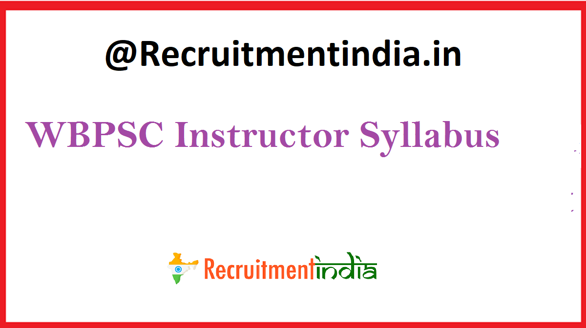 WBPSC Instructor Syllabus
