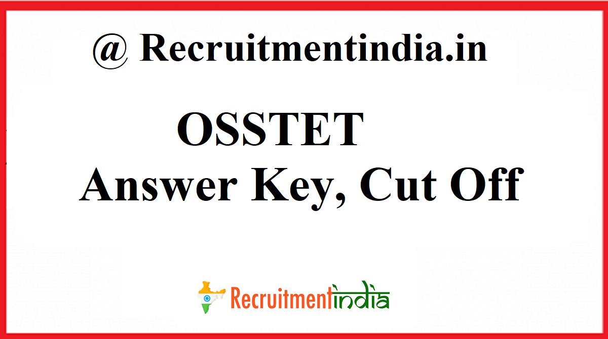 OSSTET Answer Key