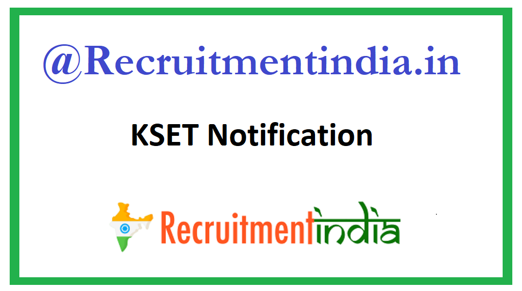 KSET Notification