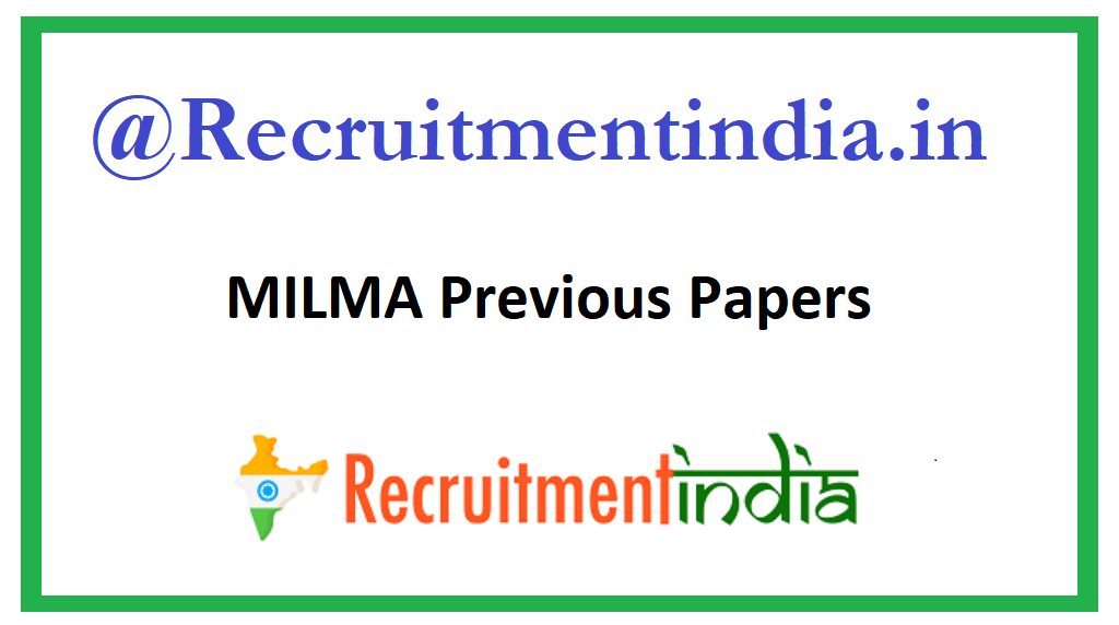 MILMA Previous Papers