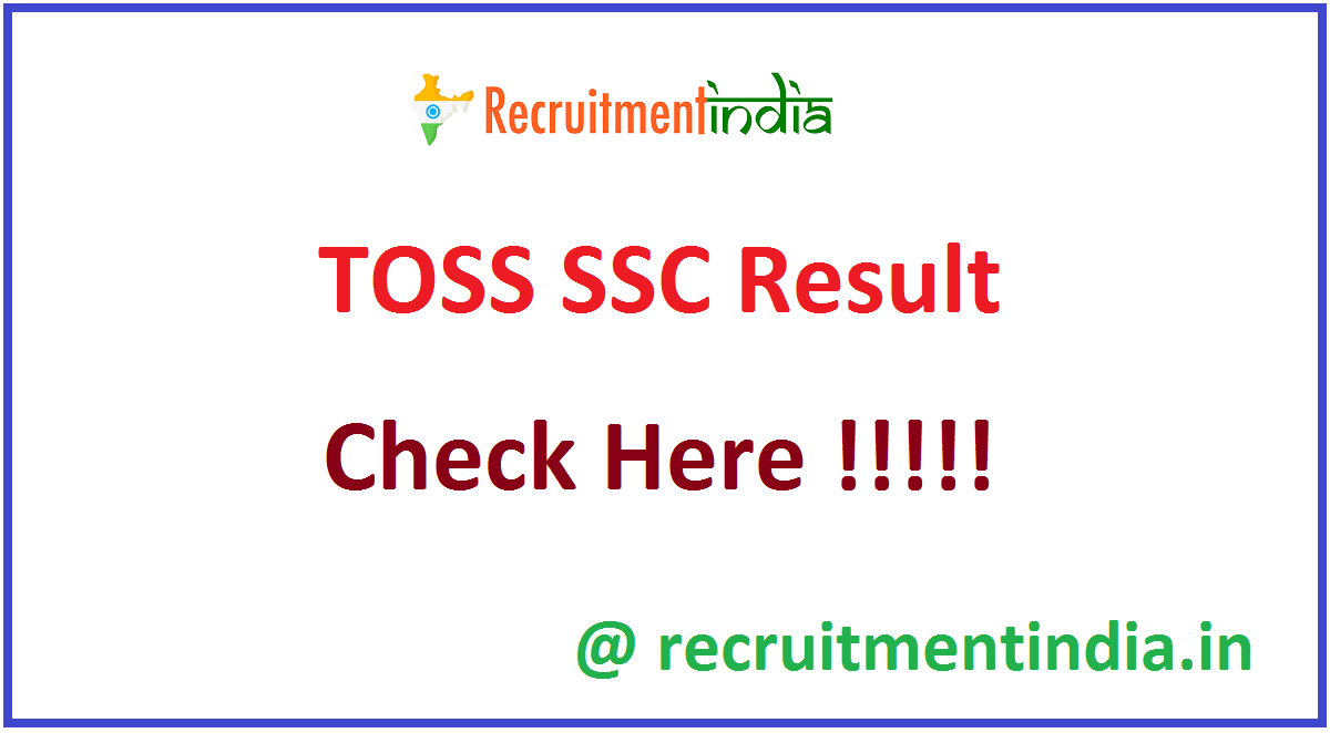 TOSS SSC Result