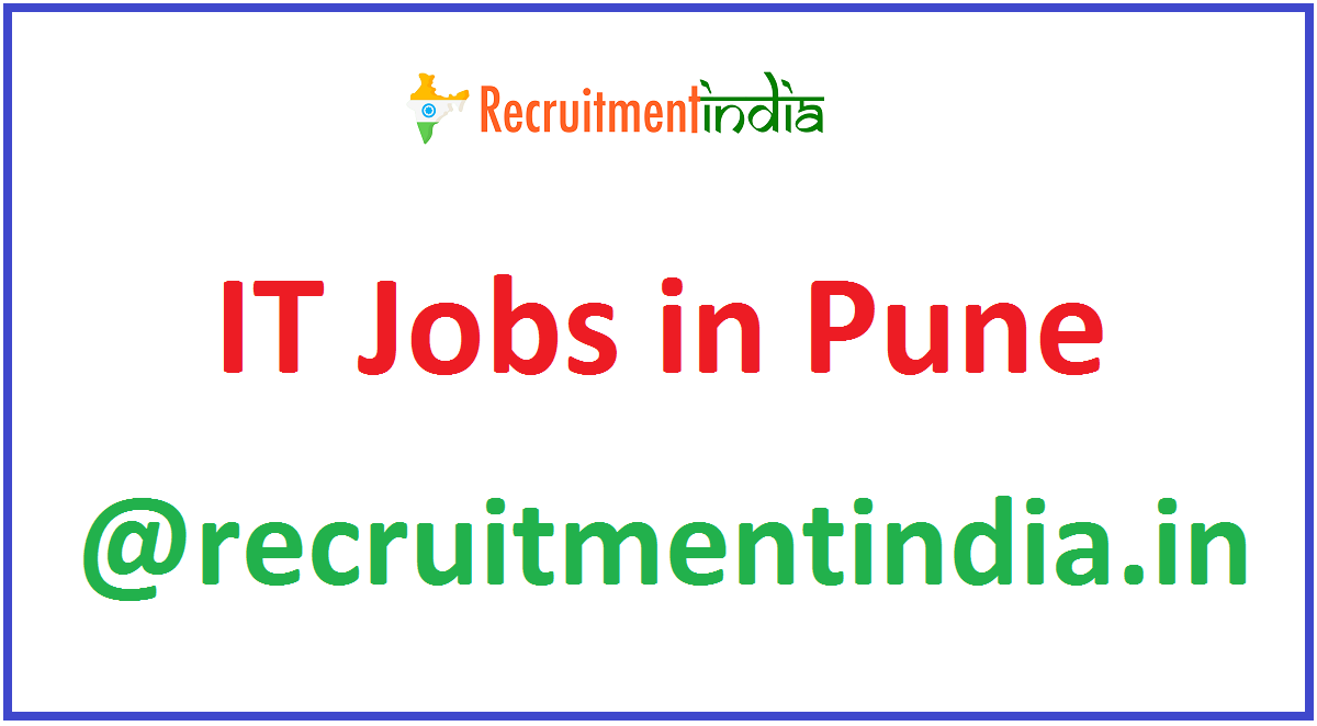 IT Jobs in Pune