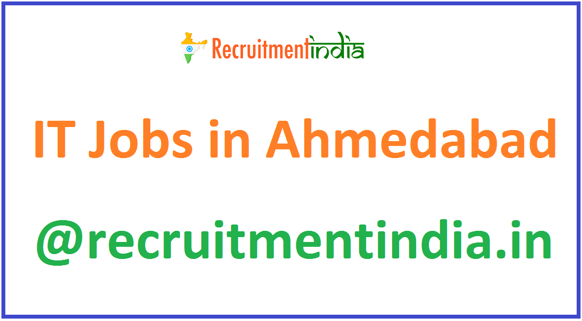IT Jobs in Ahmedabad