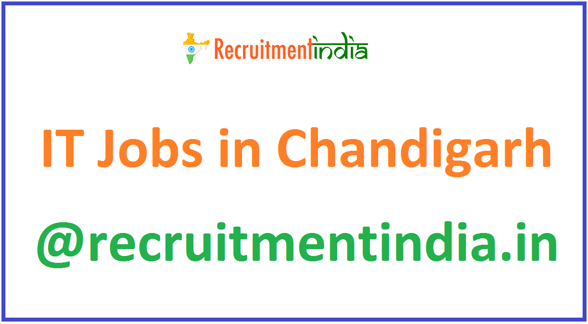IT Jobs in Chandigarh