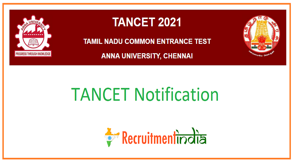 TANCET Notification