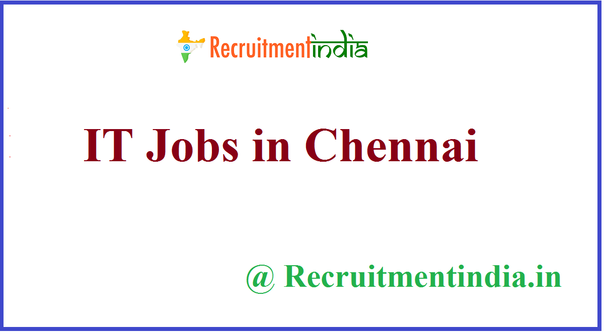IT Jobs in Chennai
