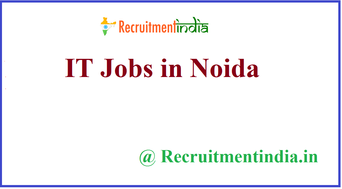 IT Jobs in Noida