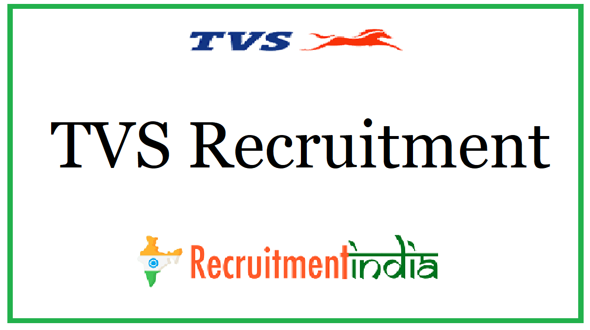 TVS Recruitment