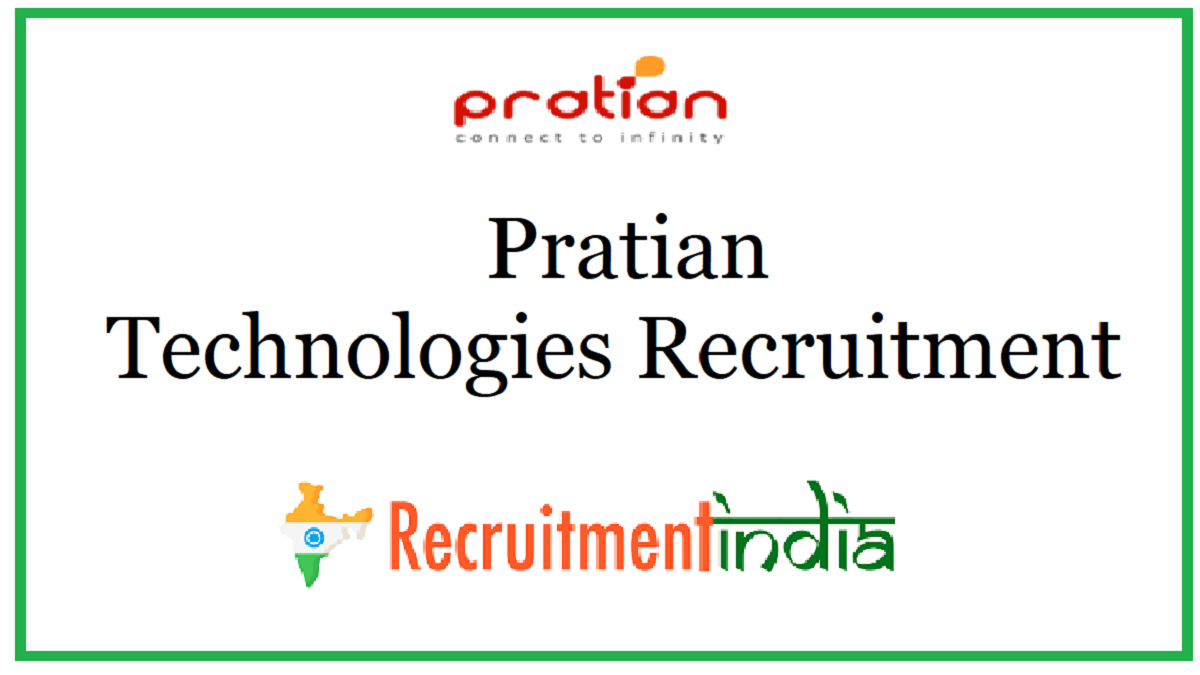 Pratian Technologies Recruitment