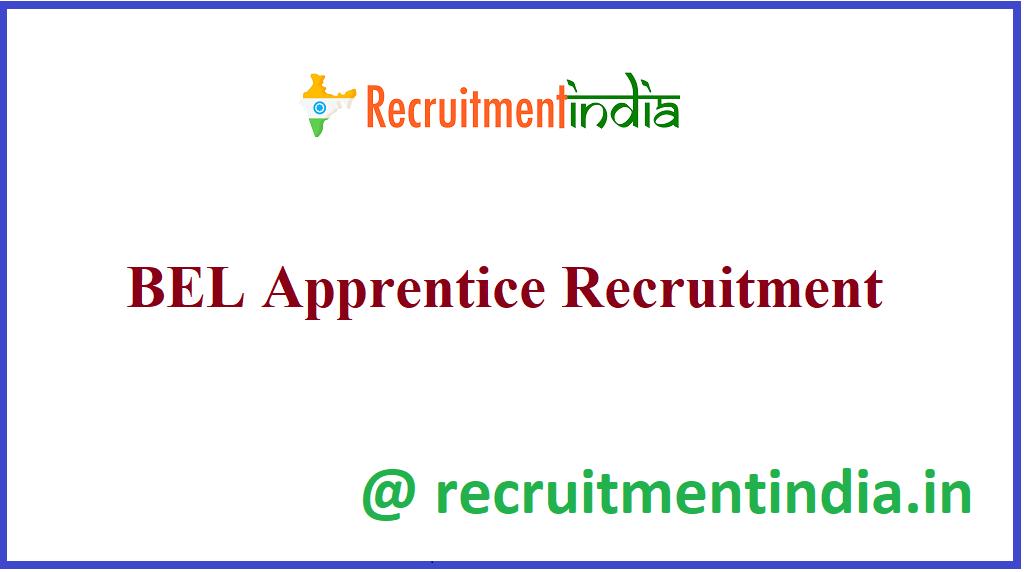 BEL Apprentice Recruitment