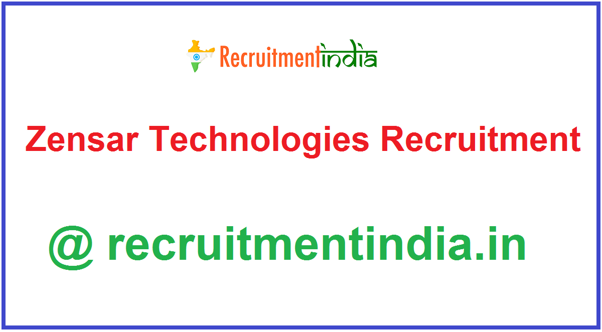Zensar Technologies Recruitment