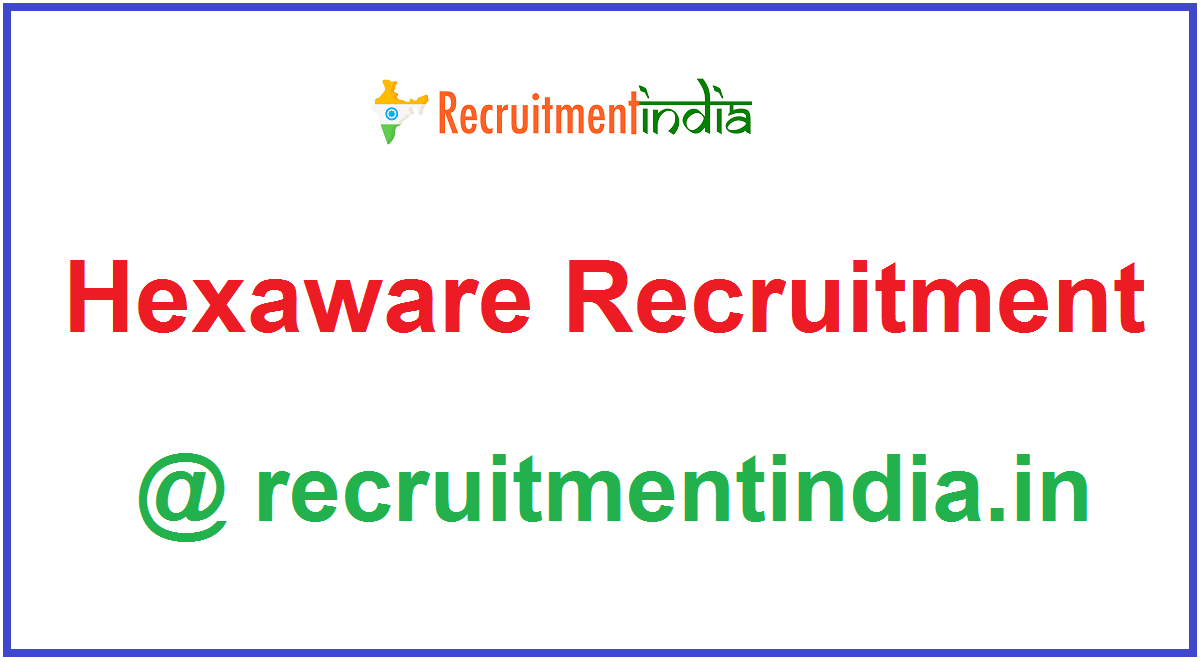 Hexaware Recruitment