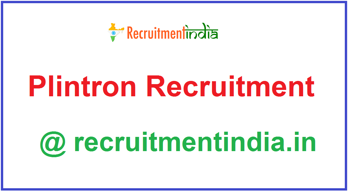 Plintron Recruitment