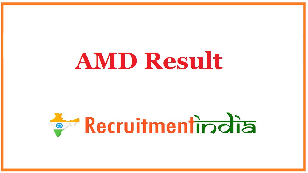 AMD Result
