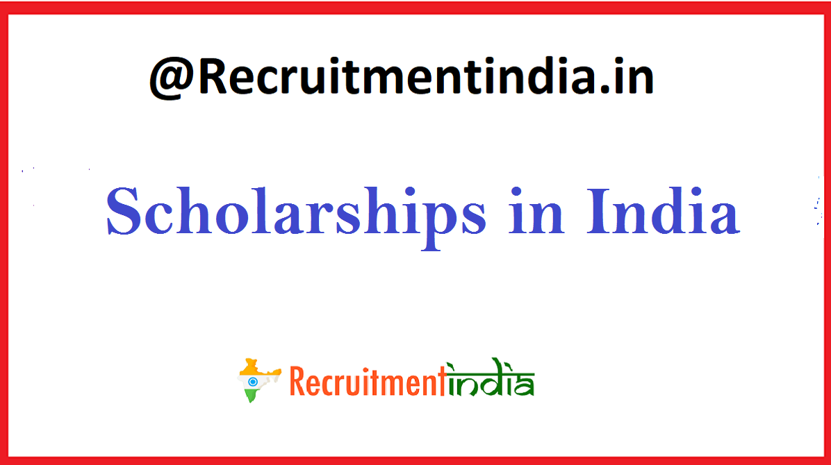 Scholarships in India