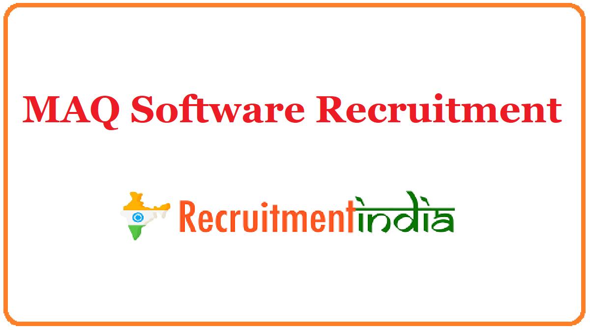 MAQ Software Recruitment