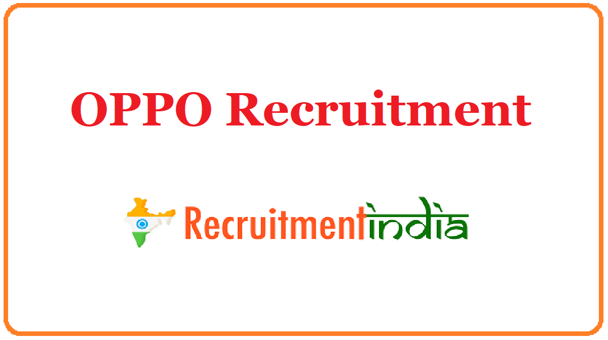 OPPO Recruitment