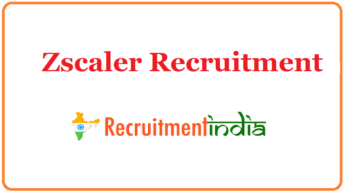 Zscaler Recruitment