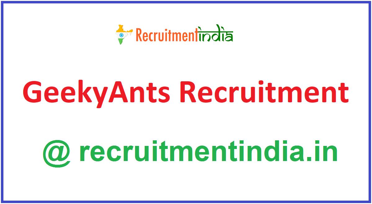 GeekyAnts Recruitment