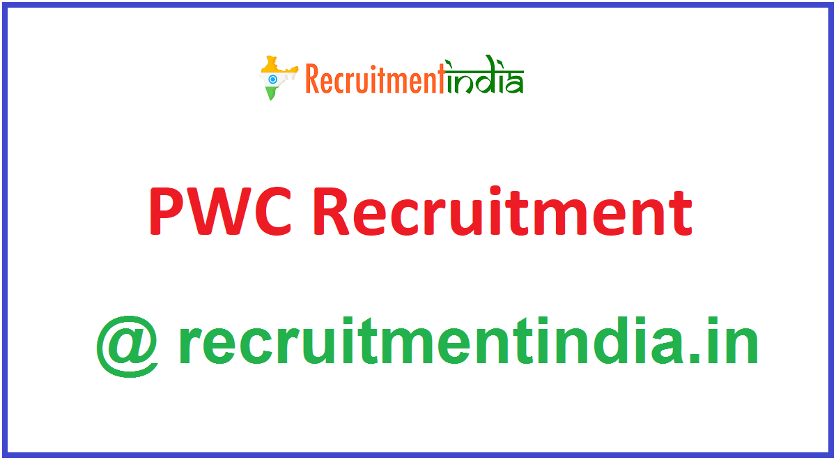 PWC Recruitment