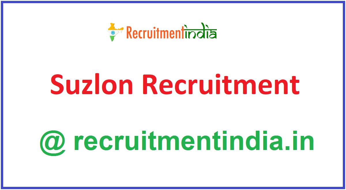 Suzlon Recruitment