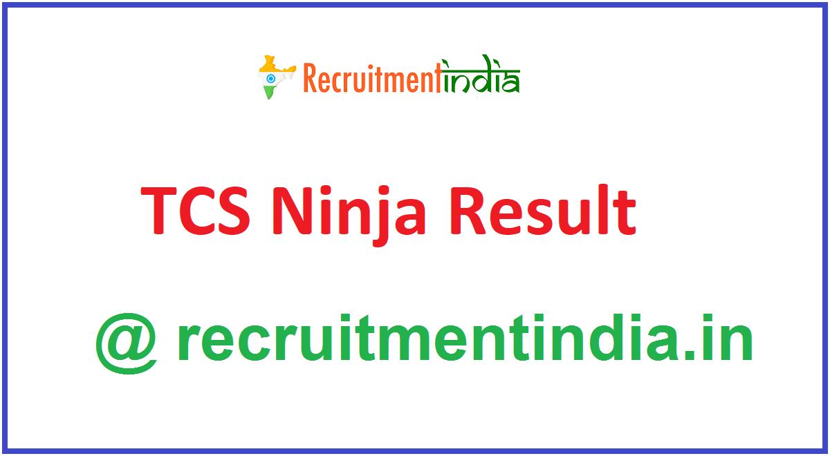 TCS Ninja Result