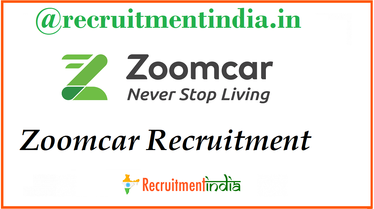 Zoomcar Recruitment