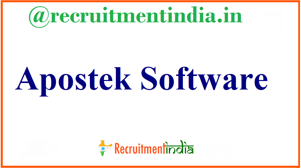Apostek Software Recruitment