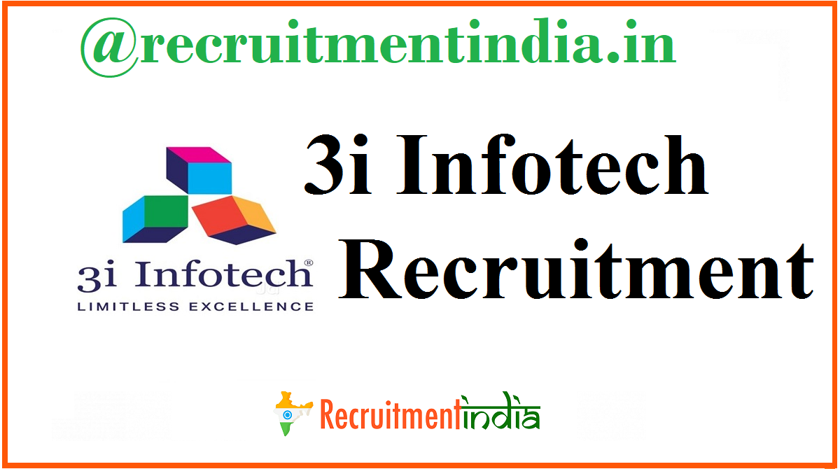 3i Infotech Recruitmen