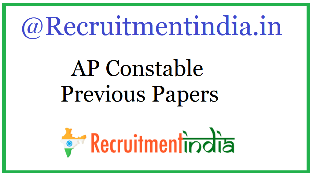 AP Constable Previous Papers
