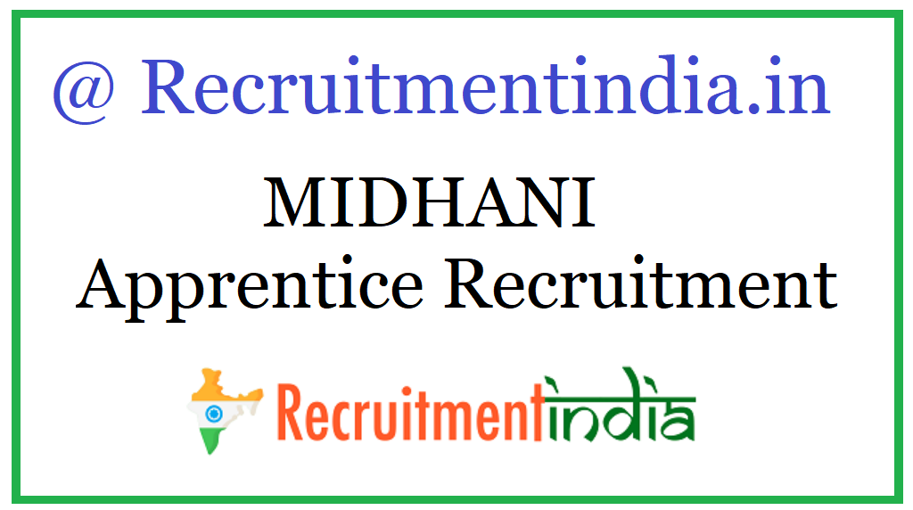 MIDHANI Apprentice Recruitment