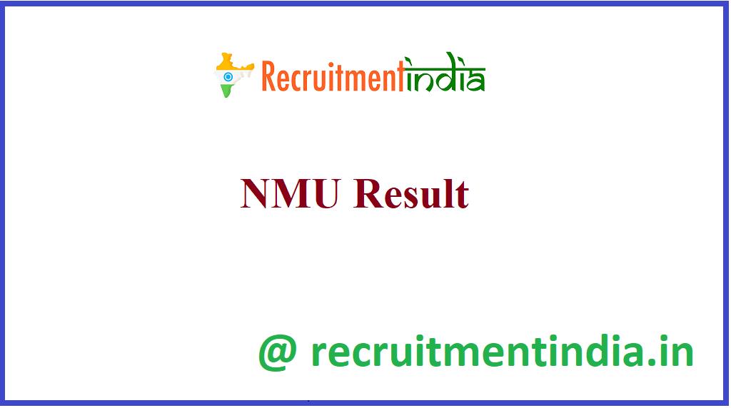 NMU Result