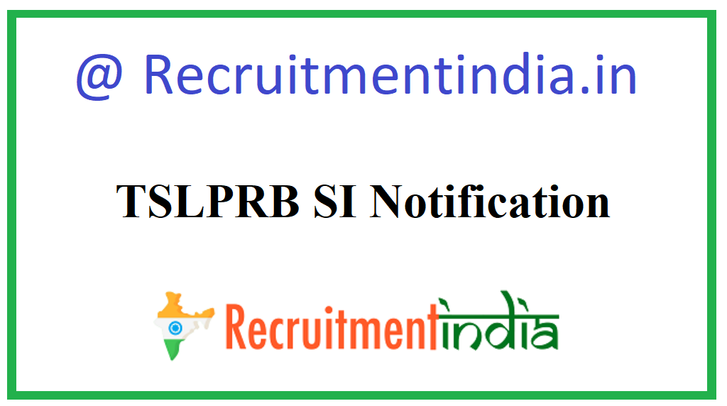 TSLPRB SI Notification