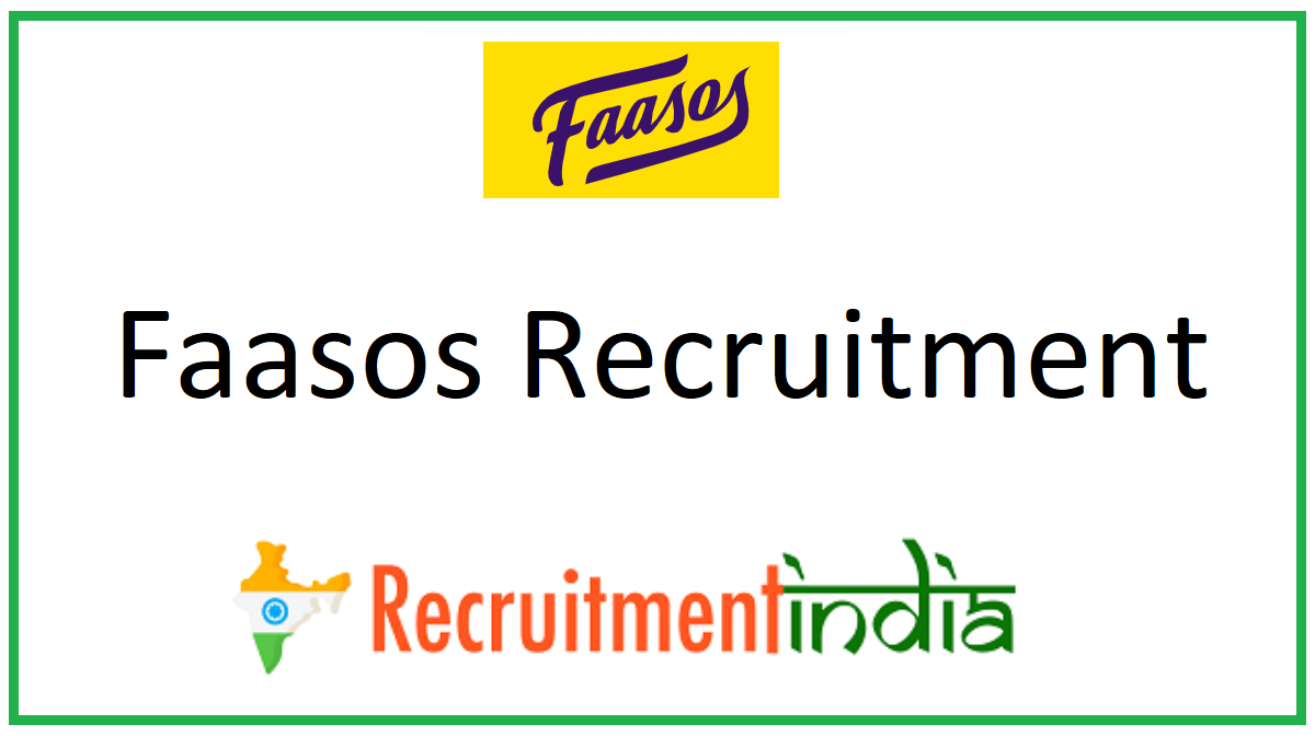 Faasos Recruitment