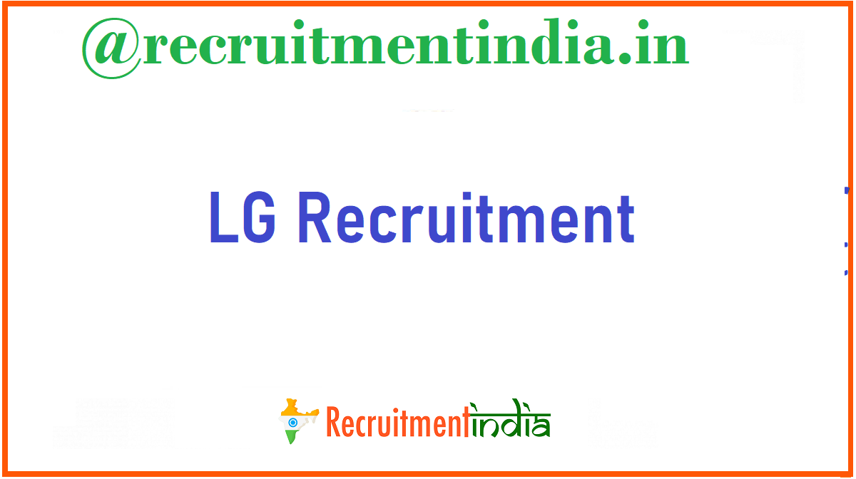 LG Recruitment