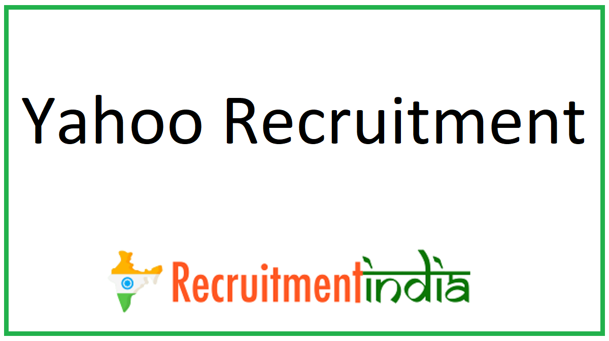 Yahoo Recruitment