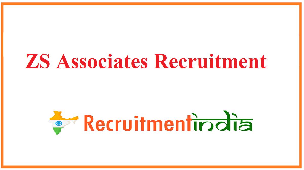 ZS Associates Recruitment