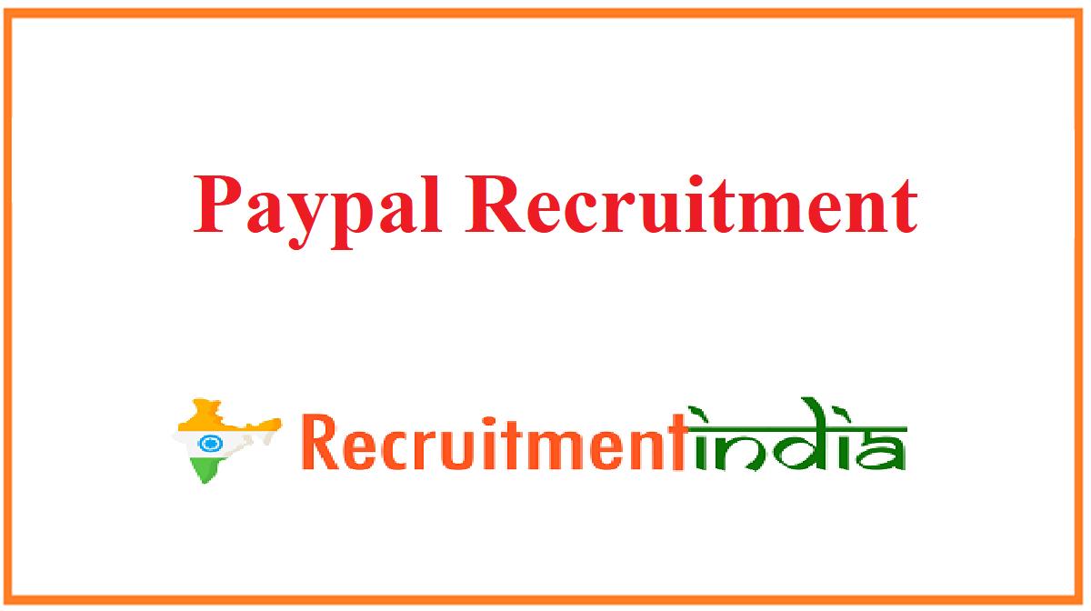 Paypal Recruitment