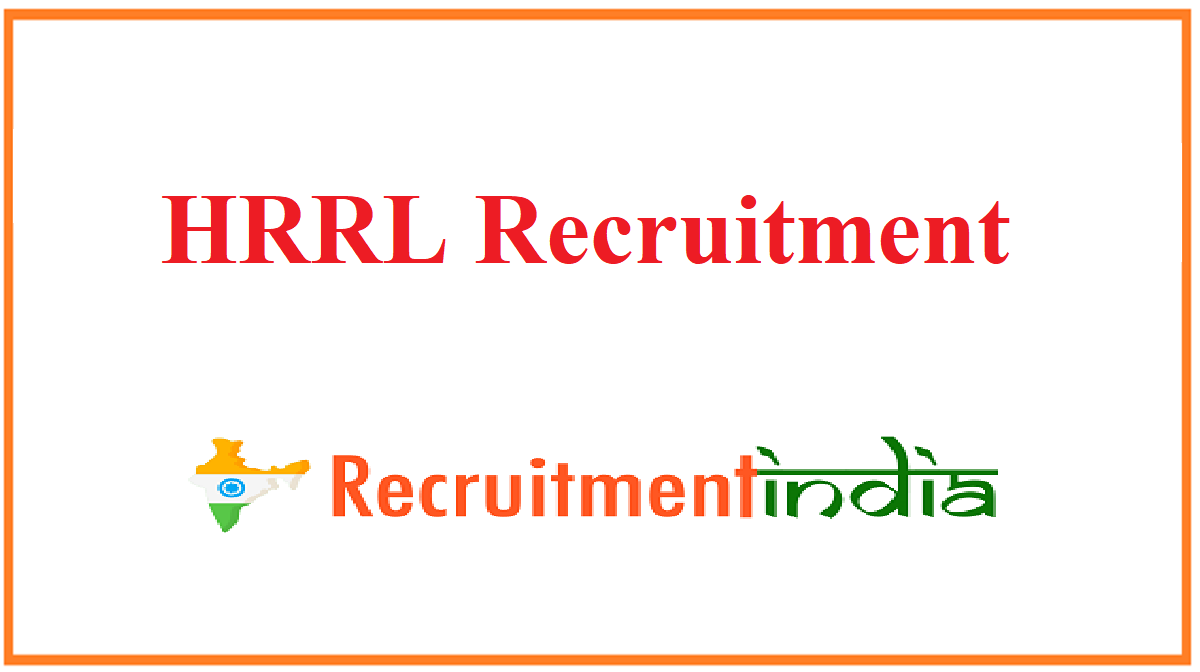 HRRL Recruitment