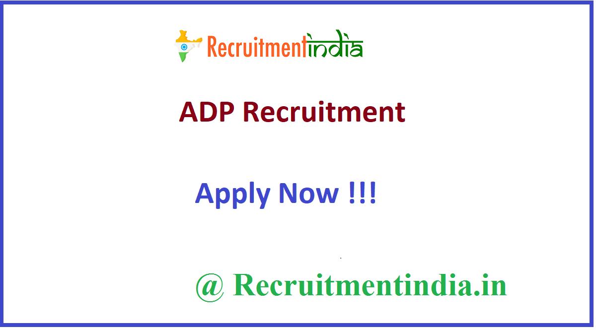 ADP Recruitment