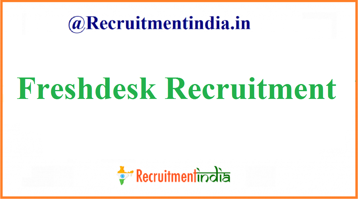 Freshdesk Recruitment