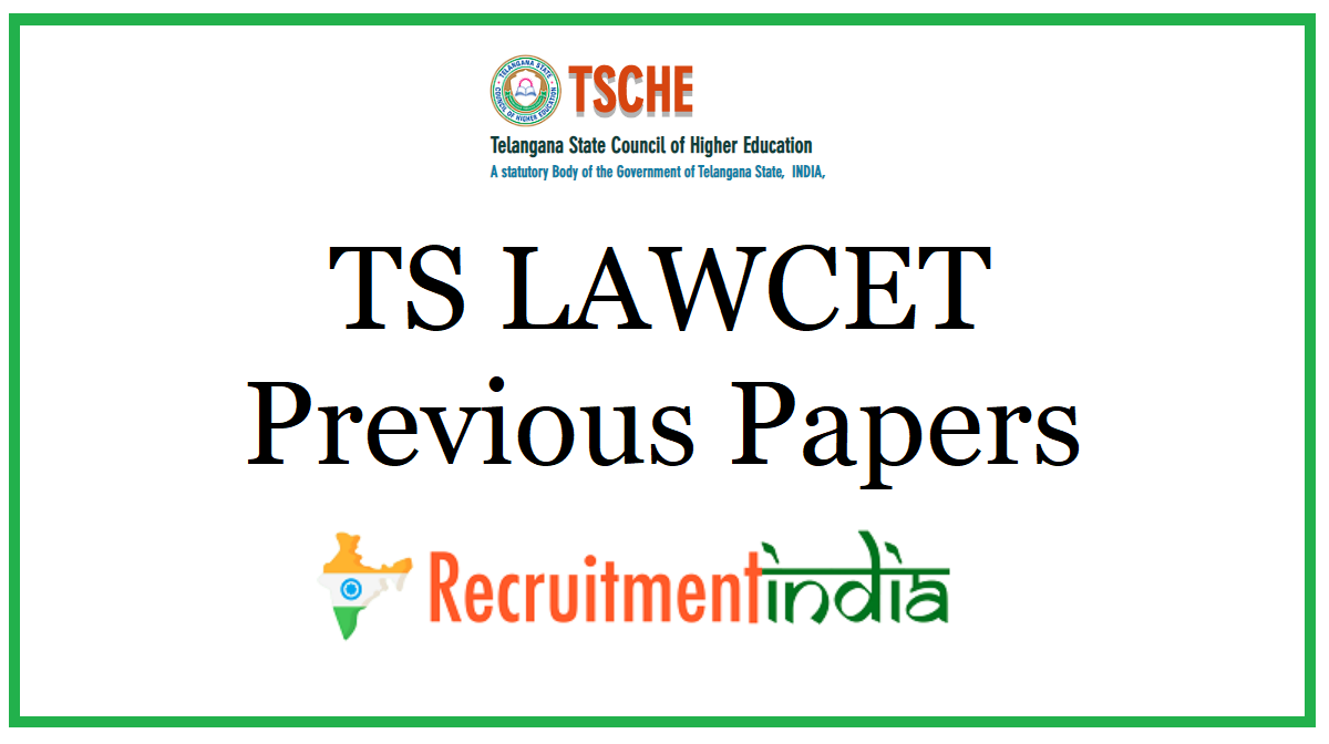 TS LAWCET Previous Papers
