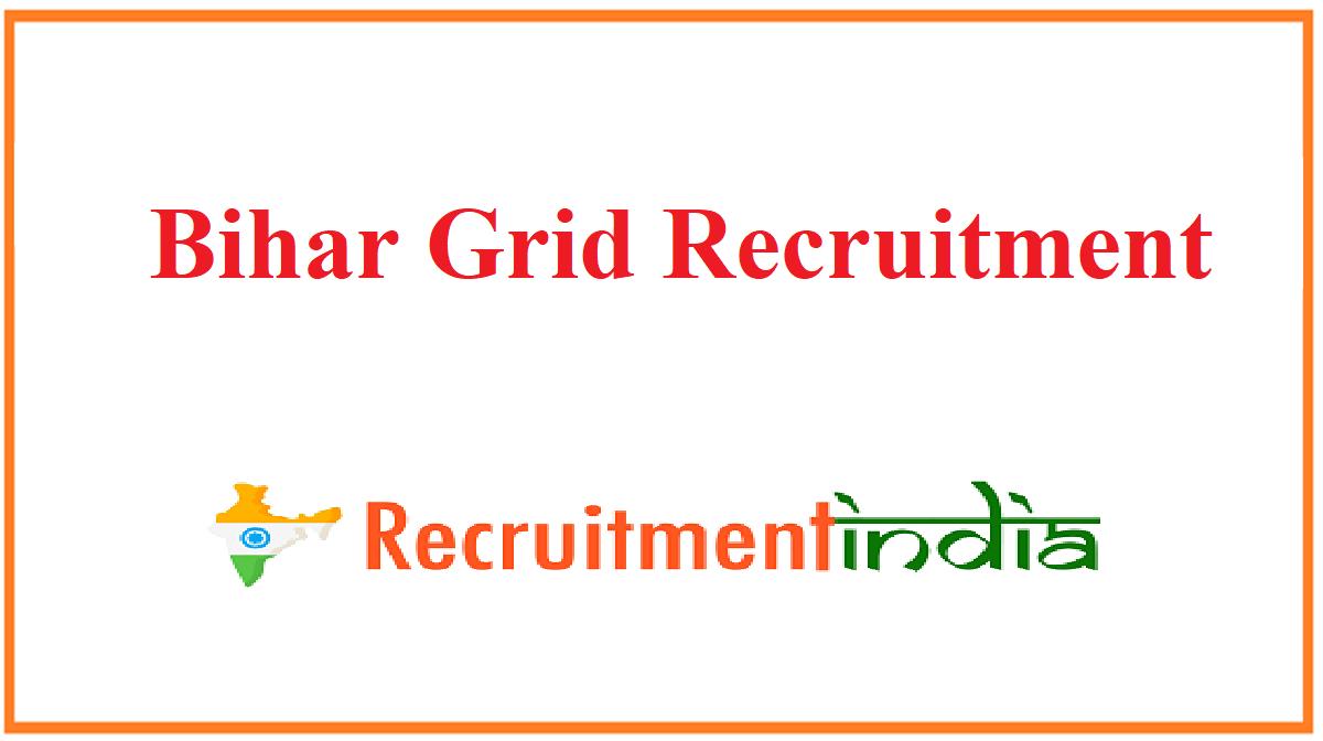 Bihar Grid Recruitment