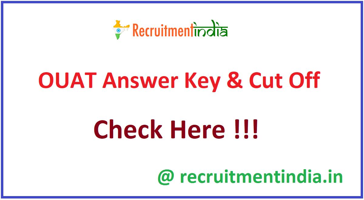 OUAT Answer Key